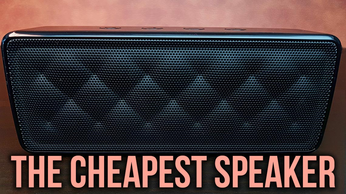 amazonbasics portable speaker bsk review  cheapest bluetooth speaker speakerfanatic