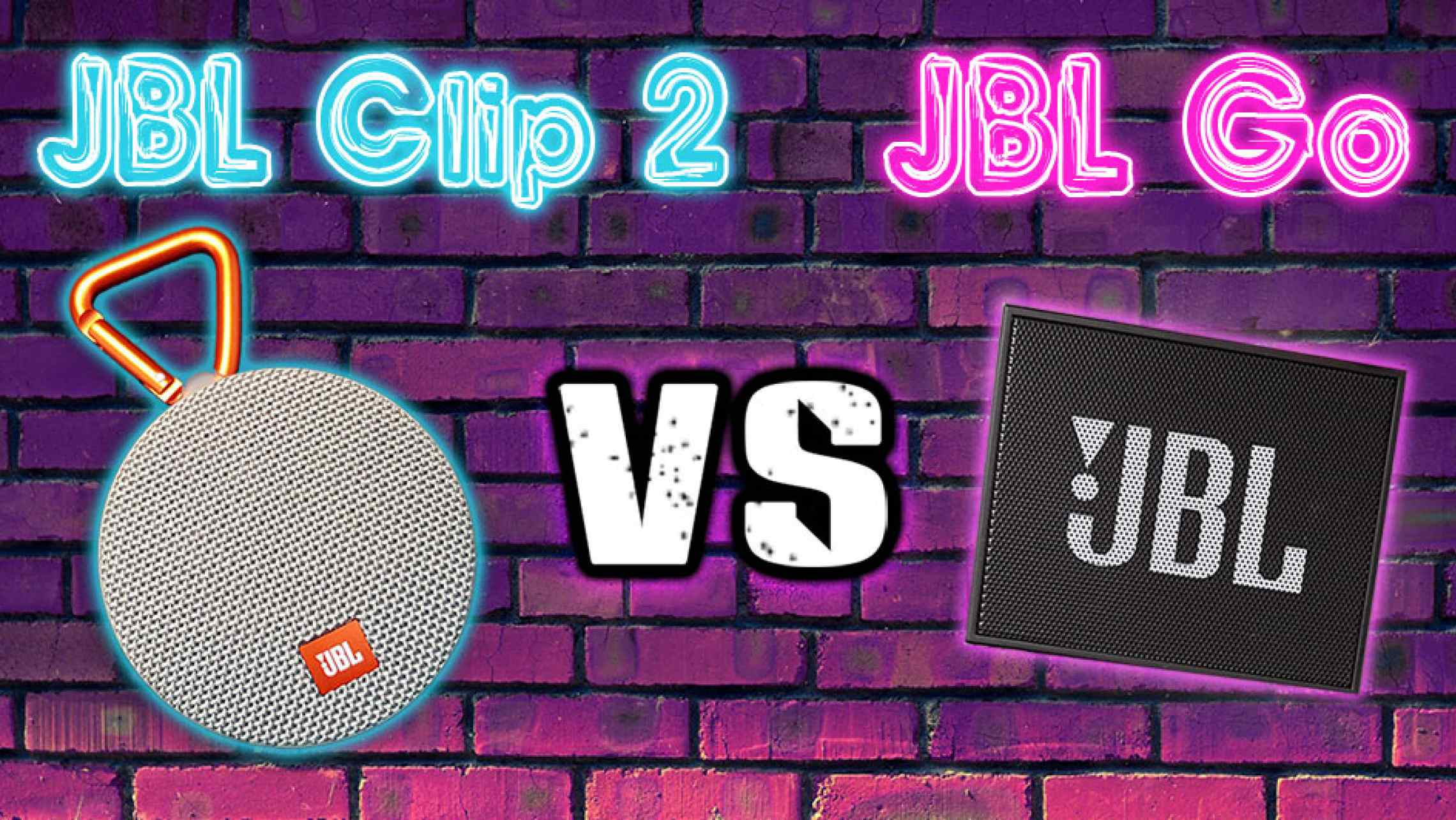 jbl clip 2 vs jbl go the ultimate comparison speakerfanatic. Black Bedroom Furniture Sets. Home Design Ideas