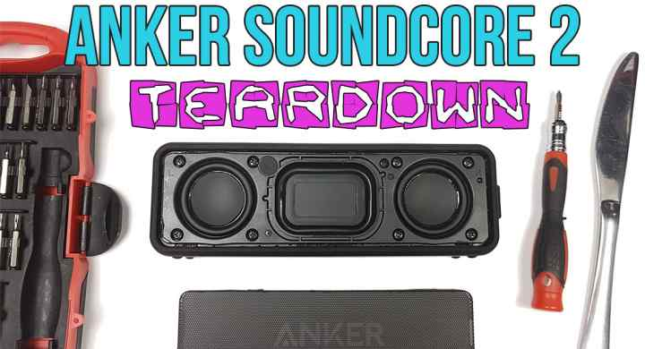 Anker SoundCore 2 Teardown