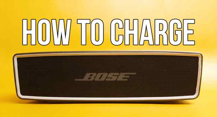 Bose SoundLink Mini 2 How to charge