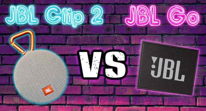JBL Clip 2 vs JBL Go