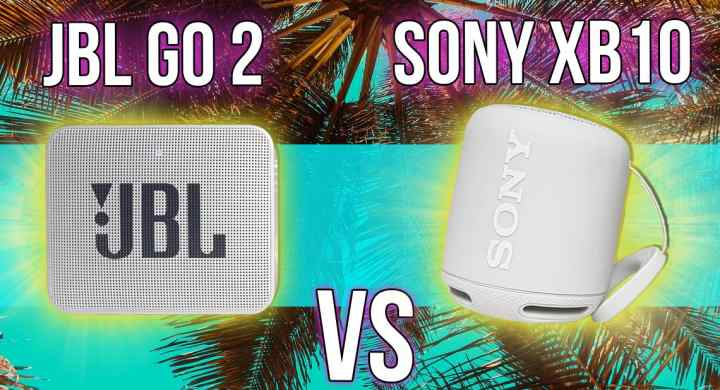 JBL Go 2 vs Sony SRS-XB10