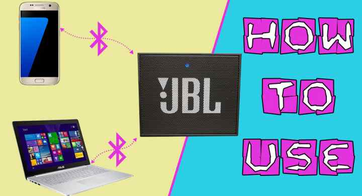 JBL Go How To Connect To Bluetooth And Use