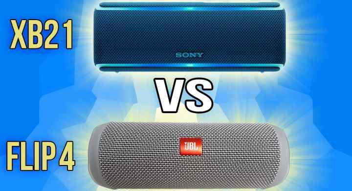 JBL Flip 4 vs Sony SRS-XB21