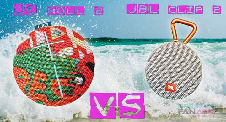 UE Roll 2 vs JBL Clip 2