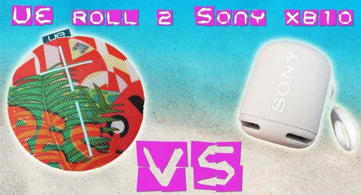 UE Roll 2 vs Sony SRS-XB10