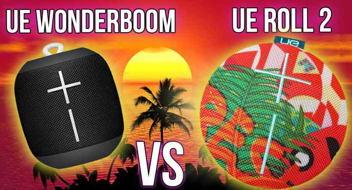 UE Wonderboom vs UE Roll 2
