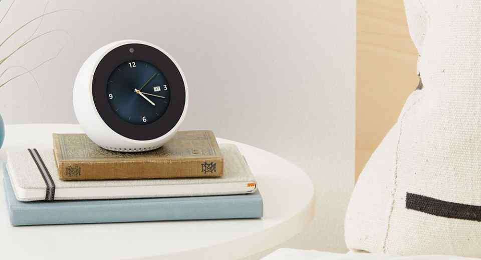 Amazon Echo Spot Front