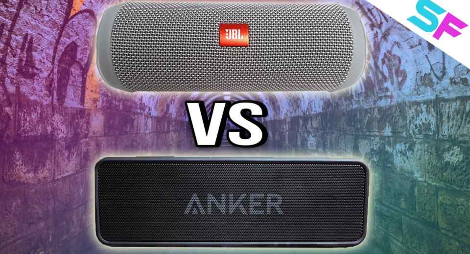 JBL Flip 4 vs Anker SoundCore 2 Comparison