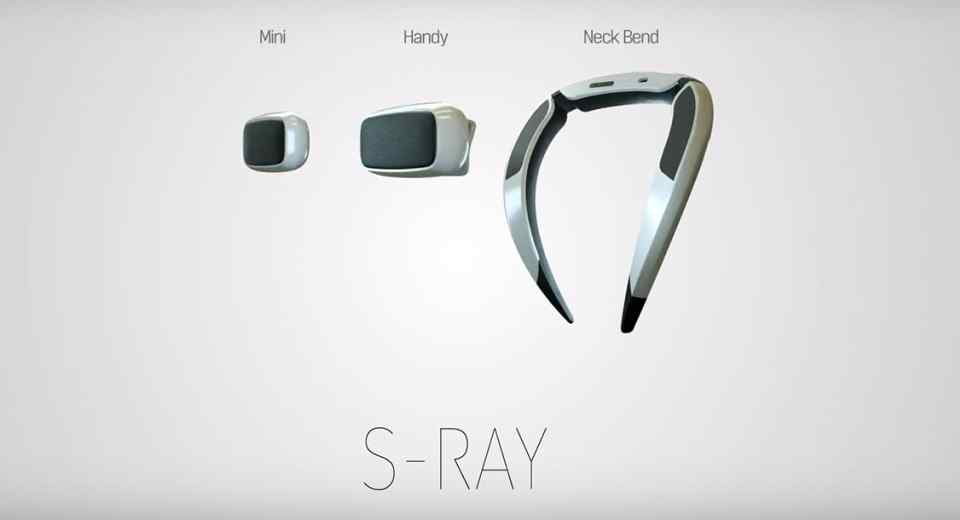 Samsung S-Ray Mini Handy Neck Bend