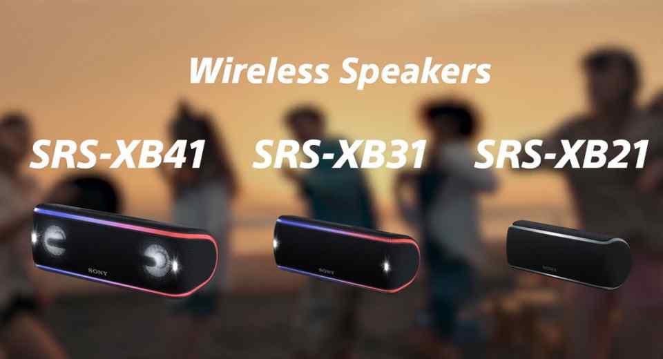 Sony SRS-XB21 SRS-XB31 SRS-XB41