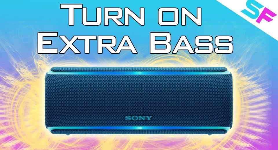 Sony XB21 Turn On Extrabass